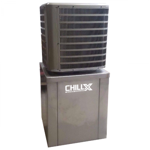 ChillX - 2-10 Ton Vertical Chillers (Single Compressor)