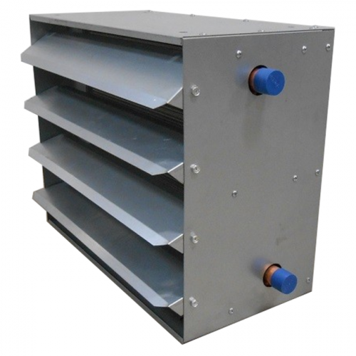 Zephaire - Unit Heater/Cooler Air-To-Water Heat Exchangers (Tube Side Front)